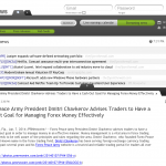 Forex Peace Army | Cash Out Goal Money Management Principle in AlipesNews
