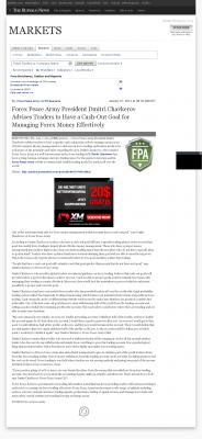 Money Management with Goal  Buffalo News (Buffalo, NY) by Forex Peace Army