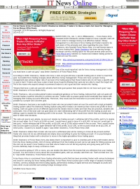 Money Management with Goal  IT News Online by Forex Peace Army