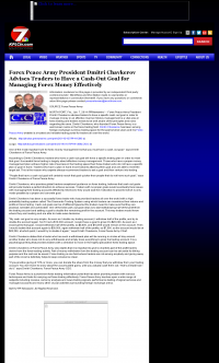 Money Management with Goal  KPLC NBC-7 (Lake Charles-Lafayette, LA) by Forex Peace Army