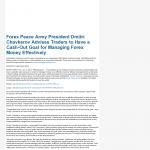 Forex Peace Army | Cash Out Goal Money Management Principle in NebraskaTV (Kearney, NE)