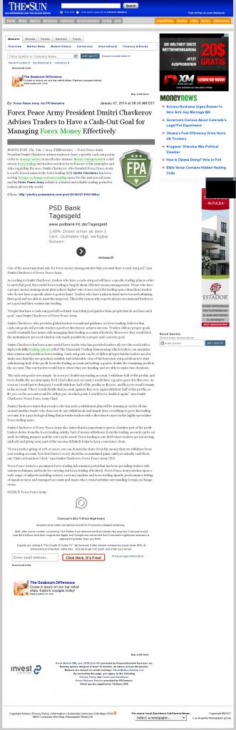 Money Management with Goal San Bernardino County Sun (San Bernardino, CA)by Forex Peace Army