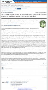 Money Management with Goal  Wichita Eagle (Wichita, KS) by Forex Peace Army