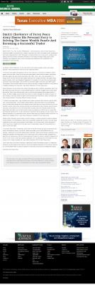 Dmitri Chavkerov Suggests to Analyze Childhood Memories    Austin Business Journal