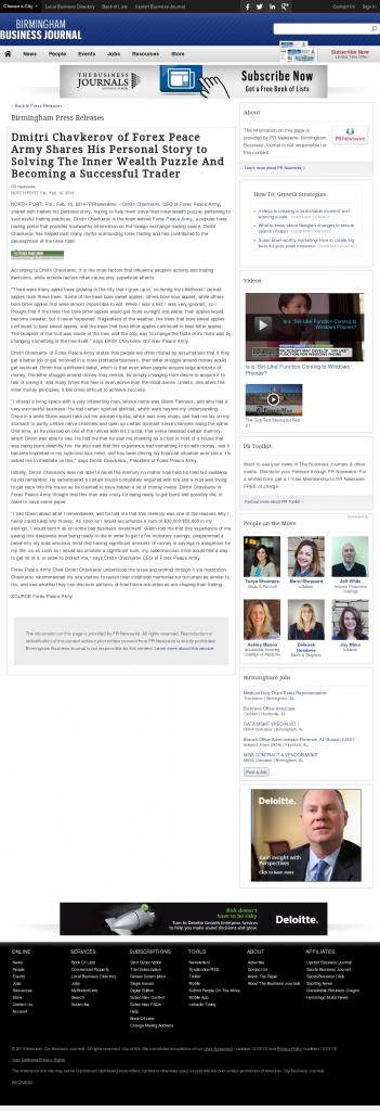 Dmitri Chavkerov Suggests to Analyze Childhood Memories   Birmingham Business Journal