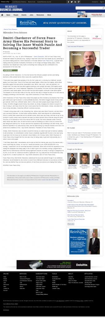 Dmitri Chavkerov Suggests to Analyze Childhood Memories   Business Journal of Greater Milwaukee