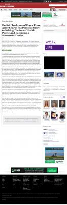 Dmitri Chavkerov Suggests to Analyze Childhood Memories    Dallas Business Journal
