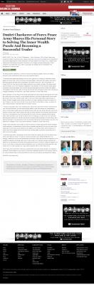 Dmitri Chavkerov Suggests to Analyze Childhood Memories    Houston Business Journal