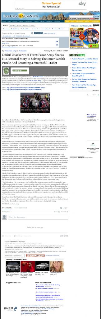 Dmitri Chavkerov Suggests to Analyze Childhood Memories | Las Cruces Sun-News
