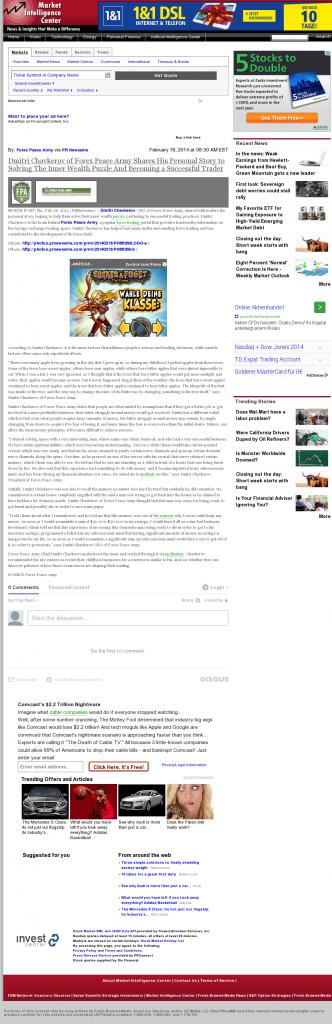 Dmitri Chavkerov Suggests to Analyze Childhood Memories | Market Intelligence Center
