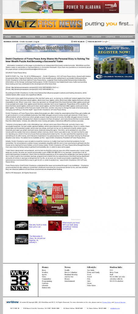 Dmitri Chavkerov Suggests to Analyze Childhood Memories | WLTZ-TV NBC-38 (Columbus, GA)