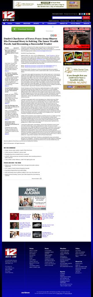 Dmitri Chavkerov Suggests to Analyze Childhood Memories | WSFA NBC-12 (Montgomery, AL)