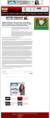 Dmitri Chavkerov Suggests to Analyze Childhood Memories    WSFX-TV FOX-26 (Wilmington, NC)